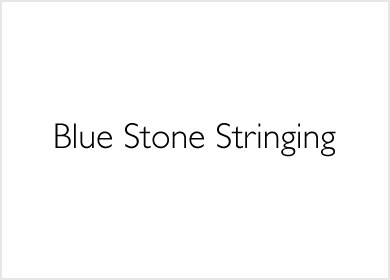 Blue Stone Stringing