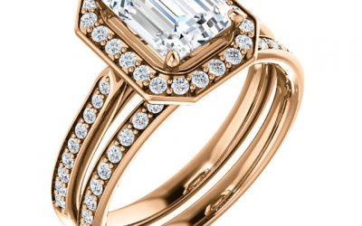 Spotlight on the Emerald Cut Engagement Ring