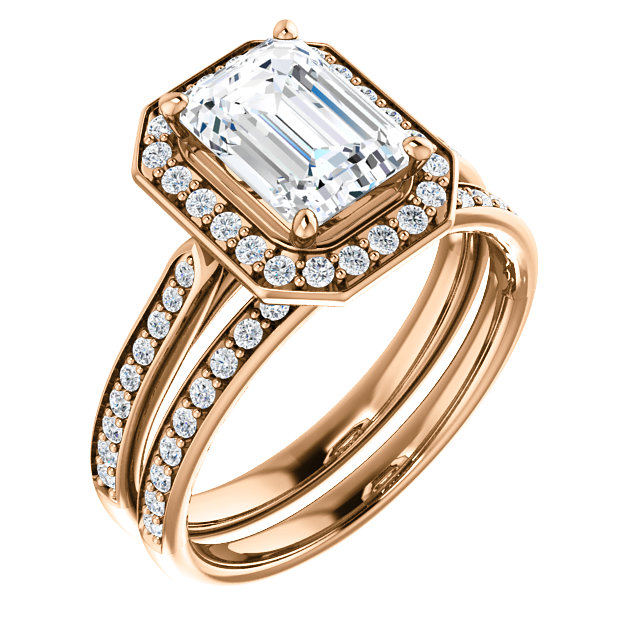 Spotlight on the Emerald Cut Engagement Ring