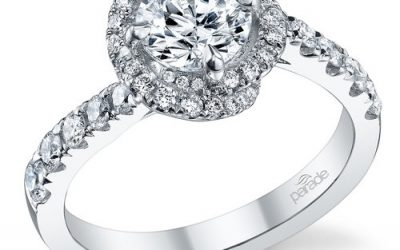 Spotlight on Parade Halo Engagement Rings